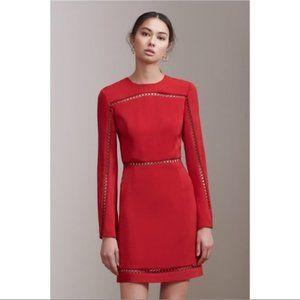 NWOT Keepsake Indulge Red Long Sleeve Mini Dress